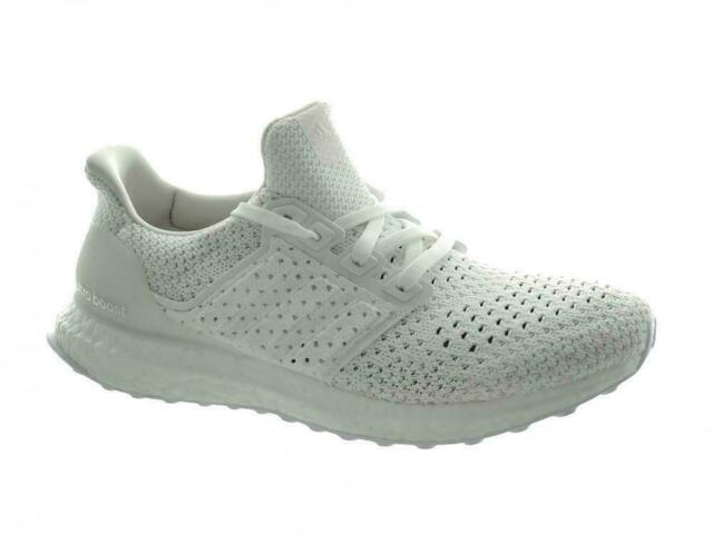 Men's Adidas UltraBoost CLIMA Running Shoes BY8888 White Size 8