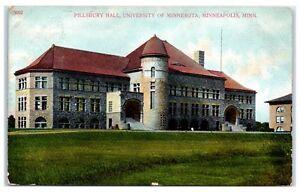 1908-Pillsbury-Hall-University-of-Minnesota-Minneapolis-MN-Postcard