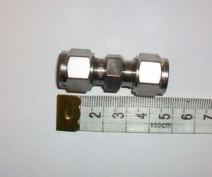 NERO 8MM EQUAL COUPLINGS 316 SS TWIN FERRULE Inc VAT BOX8715 B - <span itemprop='availableAtOrFrom'>Sutton Coldfield, United Kingdom</span> - Returns accepted Most purchases from business sellers are protected by the Consumer Contract Regulations 2013 which give you the right to cancel the purchase within 14 days after - <span itemprop='availableAtOrFrom'>Sutton Coldfield, United Kingdom</span>
