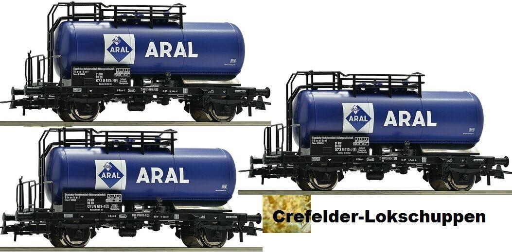 saludable Roco 56258 ; 3 Aral Vagón Cisterna Db Ep Ep Ep IV con Cambio de Eje si lo Desea  comprar mejor