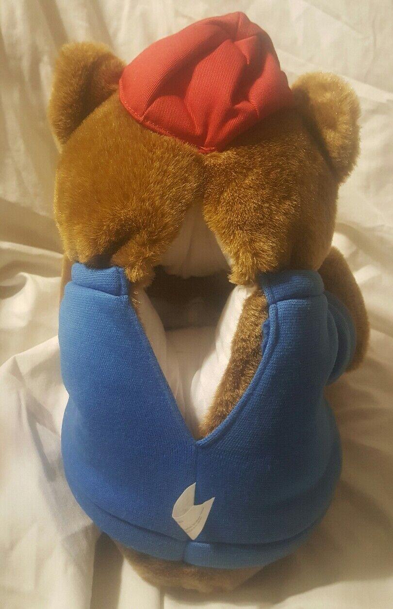 RARE vtg Patriotic flag Bear Bear Bear puppet America Cap Shirt Social Studies homeschool 278776