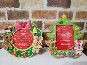 TOKYO Disney GingerBread photo stand Picture frame Mickey /& Minnie 2012 NEW