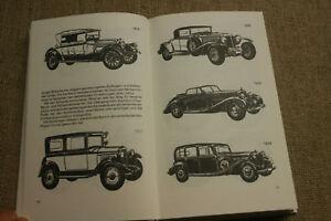 Sammlerbuch-Oldtimer-1885-1840-Horch-Maybach-Mercedes-Tatra-Bugatti-Daimler