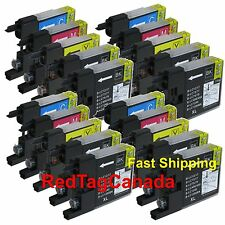 20 Pk LC75 LC-75 Ink Fits Brother MFC-J280W MFC-J425W MFC-J430W MFC-J435W