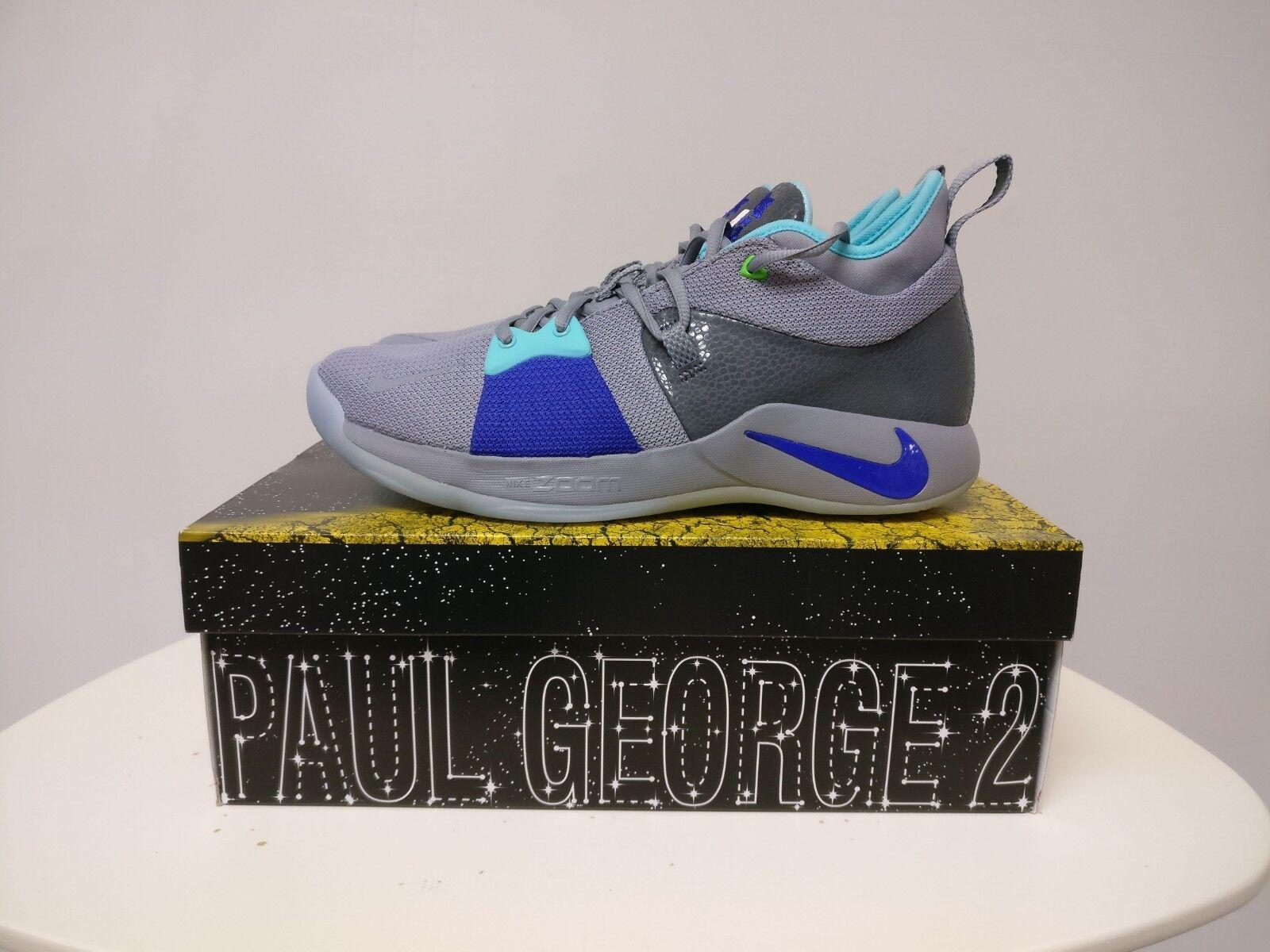 Men's Nike PG 2 Pure Platinum Size Size Size 10.5 Basketball shoes 64d131