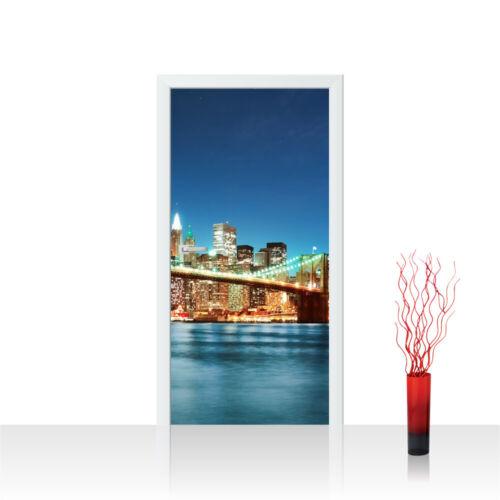 Türtapete türposter türfolie New York USA Empire State Building Big Apple No 179