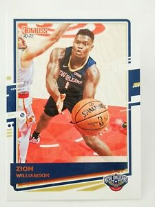 Panini Donruss 2020-21 N17 NBA trading card #147 Pelicans Zion Williamson