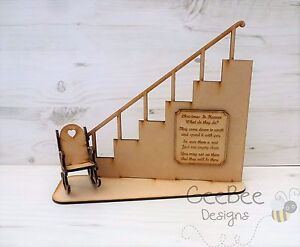 Rocking Chair Stairs Christmas In Heaven Poem Free