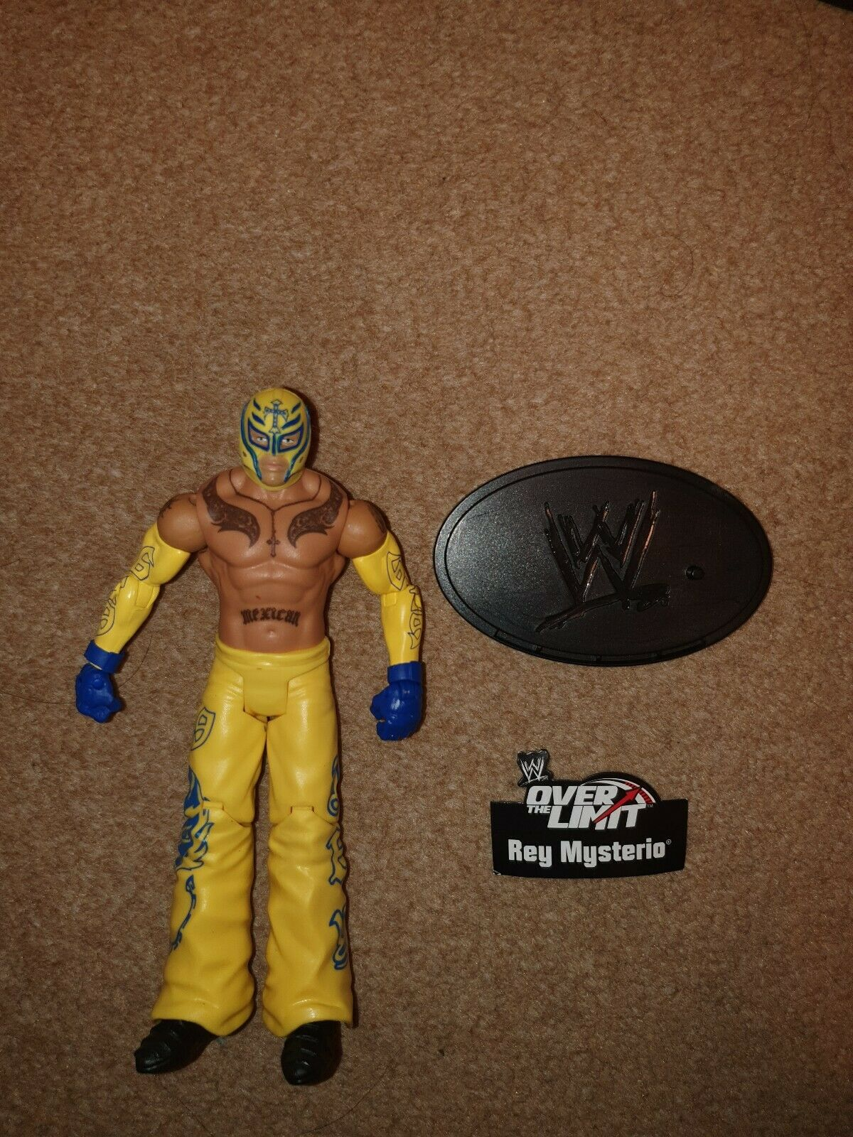 WWE Rey Mysterio Over the Limit With Stand Series 5 -Mattel Wrestling Figure