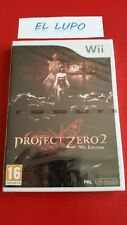 PROJECT ZERO 2 WII NINTENDO NEUF SOUS BLISTER VERSION FRANCAISE