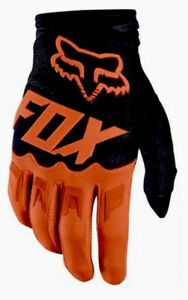 Orange-Fluorescent-Fox-Motocross-Enduro-Froid-Dirtpaw-Gants-MX-Taille-M-L