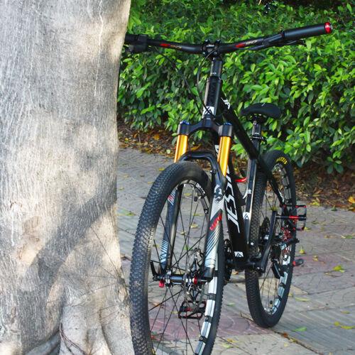 """Mountain Bike Air Suspension Fork 120mm Travel Disc Brake 26 27.5 29/"""" Ultralight"""