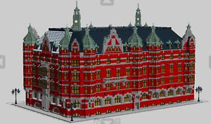 Lego Egen instruktion Stor klassisk byggnad