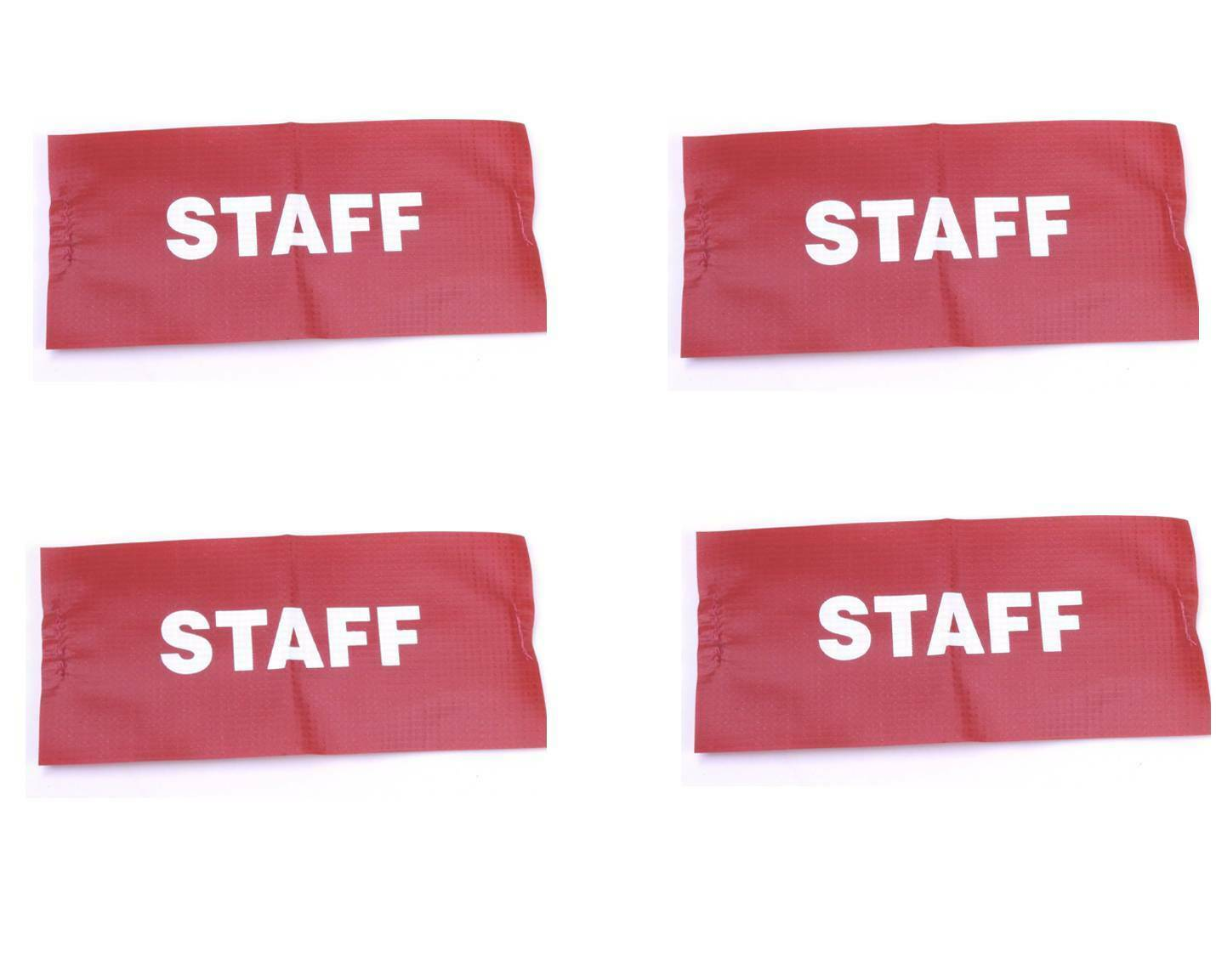 Vinyl/Nylon Armbands Printed STAFF