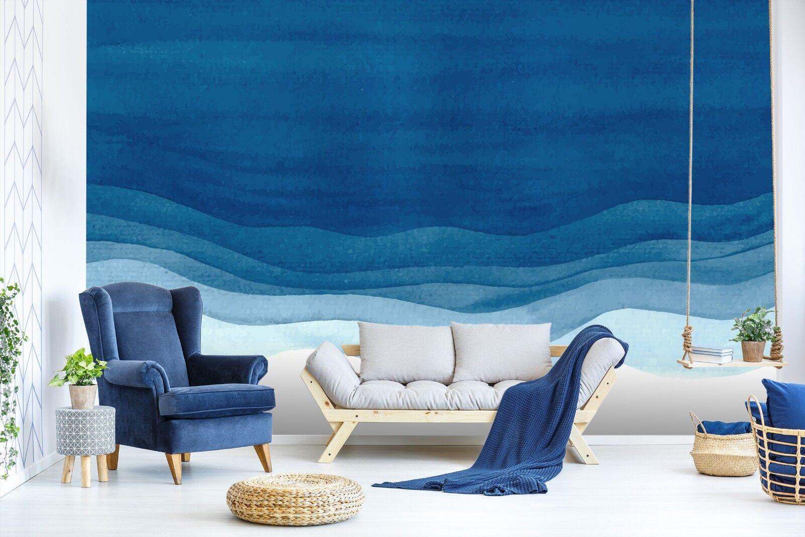 3D Blau Ozean 7050 Tapete Wandgemälde Tapete Tapeten Bild Familie DE Sidney