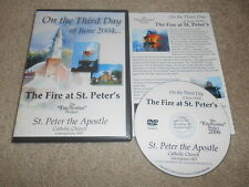On the Third Day of June 2004... The Fire at St. Peter's: The Fire Stories Proje