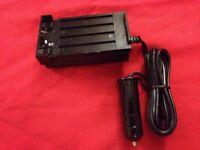 Camera Battery Charger 12v Adapter For Olympus Nikon Elmo Chinon Video 8 Cameras