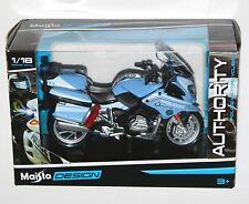 Maisto - 'POLIZIA' BMW R 1200 RT (Blue) - Police Motorbike Model Scale 1:18