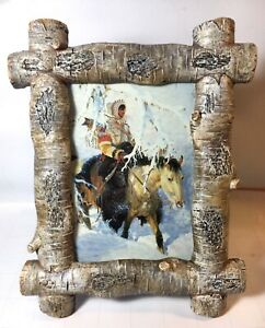 Western Art John Clymer Out of the Silence Framed Print American Indian Horse