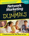 Network Marketing for Dummies by Zig Ziglar (Paperback, 2000)