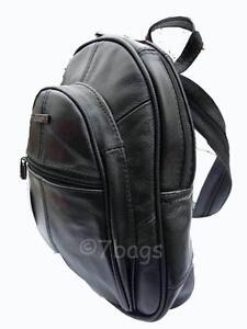 Image Is Loading Small Soft Leather Backpack Rucksack Bag Handbag