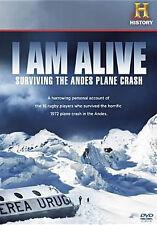 I AM ALIVE: SURVIVING THE ANDES PLANE CRASH - DVD - Region 1 - Sealed