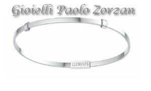 737a26e24c Dettagli su Bracciale rigido Elements di Donna Oro bangle in argento 925  Ref. DFBF4108