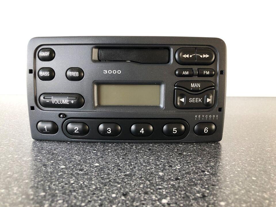 Ford FD 3000, Kassette/Radio