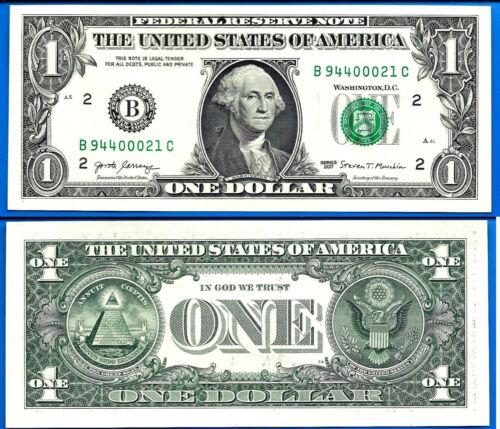 USA 1 Dollar 2017 UNC Dollars Mint New York US Suffix C United States America