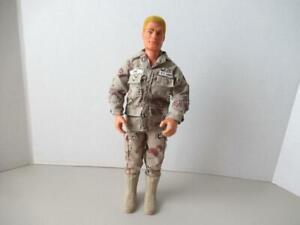 1991-Hasbro-Pawtucket-GI-JOE-12-034-Duke-floque-cheveux-Action-Figure-Gi-Joe-clothes