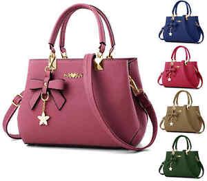Ladies Fashion Handbag Shoulder Purse Women Crossbody Leather Tote Designer Bags
