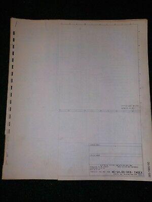 1980 Ford F600 F700 F800 Cowl Electrical Wiring Diagram ...