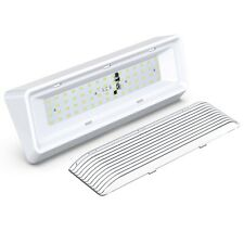 12 Inch White Exterior Rv Led Porch Light 650lm 12 Volt