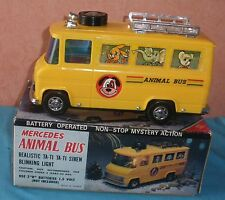 MERCEDES BENZ L608D ANIMAL BUS CM 1005 TAIWAN BATTERY OPERATED OK TBE BOX 550 J