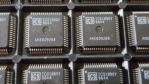 3x-ICS-ICS1890Y-1-CHANNEL-10Base-TX-100Mbps-LOCAL-AREA-QFP-64