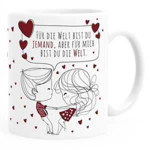 Personalisierte Kaffee Tasse Liebespaar Parchen Mit