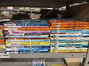 10 Dr. Seuss Beginner Bright and Early Books! Random & Unsorted Book Lot