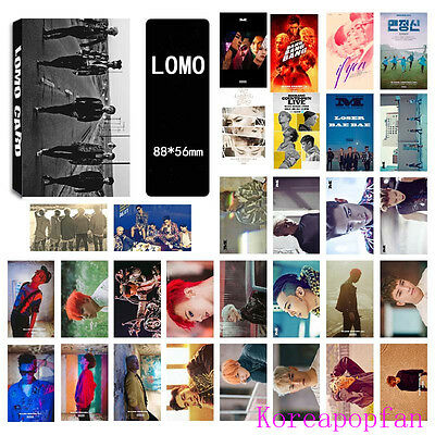 30pics set BIGBANG G-DRAGON GD MADE TAEYANG LOMOCARDS Kpop goods New