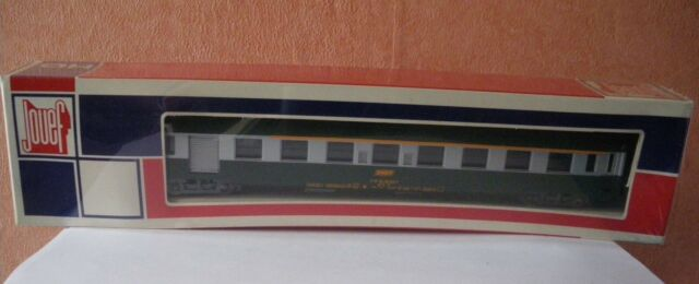 524 Jouef 5294 Voiture A7d SNCF Type Y UIC vert/gris HO 1:87