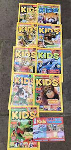 National geographic kids magazine 2011 - 9 Magazines.