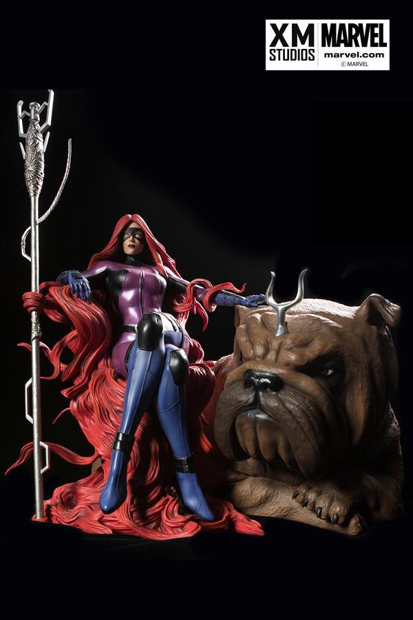 ventas al por mayor XM Studio Medusa 1 4 4 4 Menta, Sideshow estatua, Personalizado, Marvel  con 60% de descuento