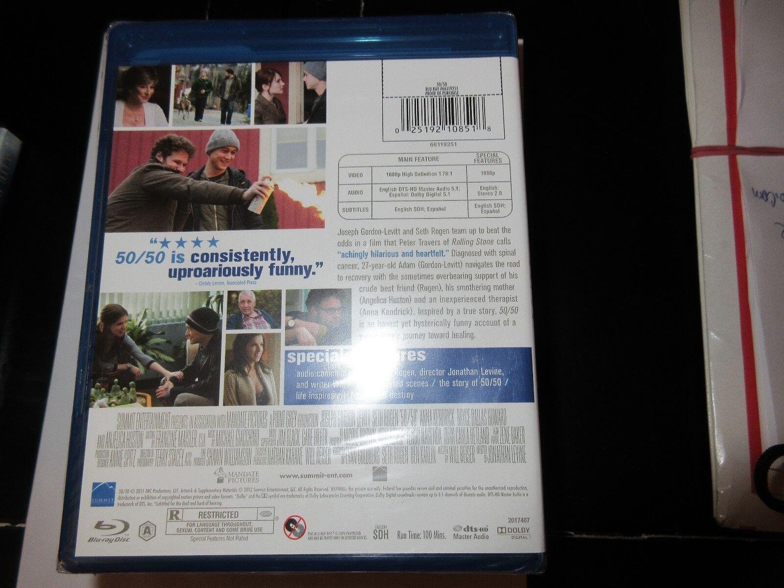 50 / 50 , Blue-Ray Disc , DVD