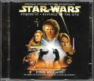 STAR-WARS-REVENGE-OF-THE-SITH-JOHN-WILLIAMS-B-O-F-SOUNDTRACK-O-S-T-CD-DVD