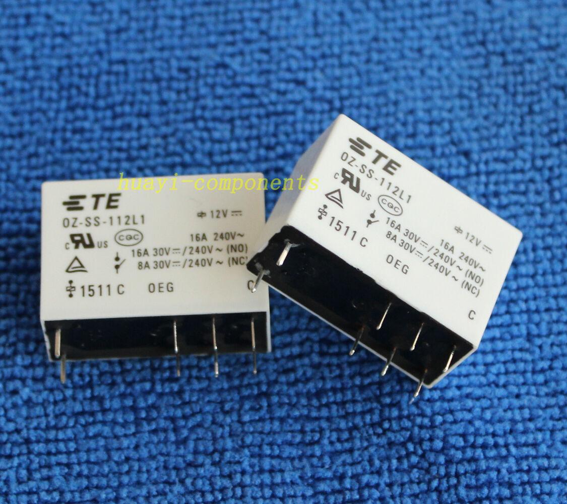 Sanyou SRD-S-112D Mini Power Relay 12V Dc nc