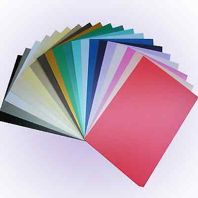 Pearl Card A4 - NEW colours Single Sided Pearlescent Pearised Shimmer Craft Card