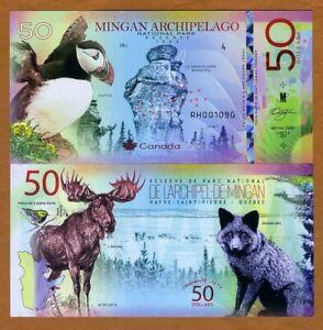 Canada-Mingan-Archipelago-National-Park-Quebec-50-dollars-Polymer-2019