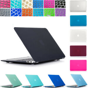 """For Apple Macbook Air 11.6"""" 11 inch Hard Plastic Case Shell & Keyboard Cover"""