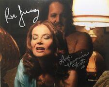 Veronica Hart, Ron Jeremy Autographed 8 x 10 signed Matte photo RARE!