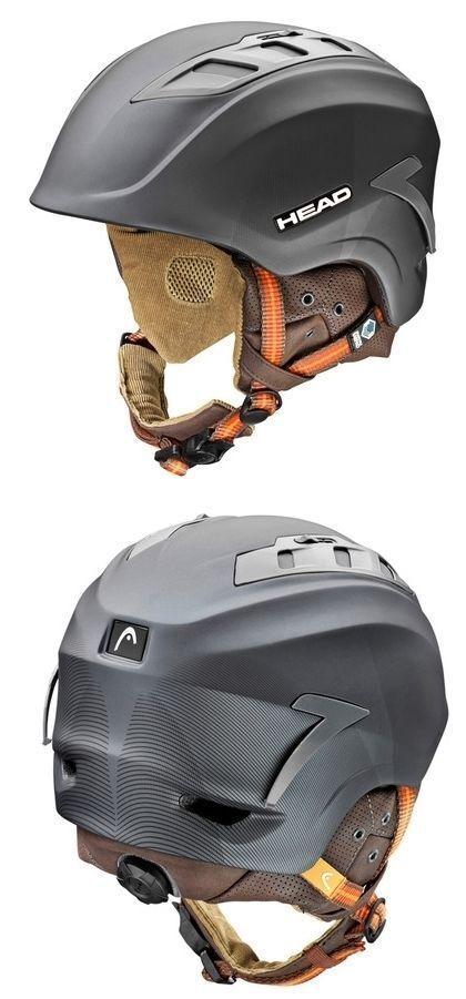 Head Sensor Ski Helmet Snowboard Helmet (Anthracite) - New