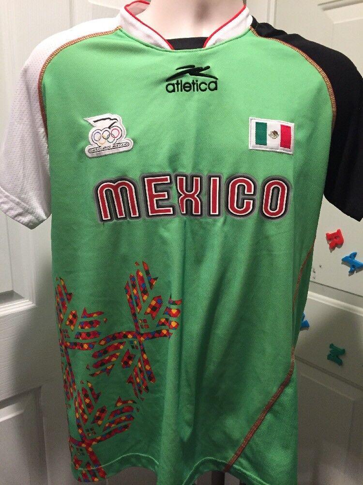 Atletica Seleccion Mexicana Olimpiadas Jersey Original Excellentes Condiciones S